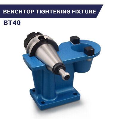Bt40 Tightening Fixture Benchtop Model One Piece Bt40 Lock Seat Tool For Cnc