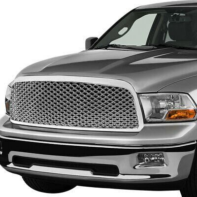 For Ram 1500 2011-2012 Torxe 1-Pc Chrome Honeycomb Mesh Main Grille