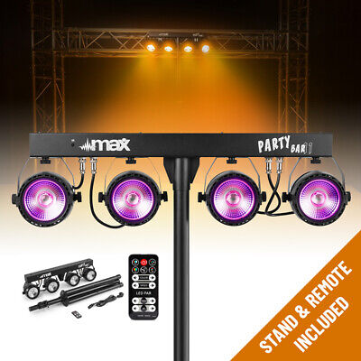 B-Stock LED Party Bar Light COB PAR Four in One Disco Stage DJ T Lighting System