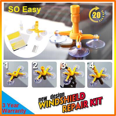 Car Windshield Windscreen Glass Scratch Chip Crack Repair Fix Tools DIY Kit (Repair Glasses)