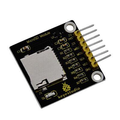 Keyestudio Micro Sd Tft Card Write-read Socket Module Spi For Arduino Project