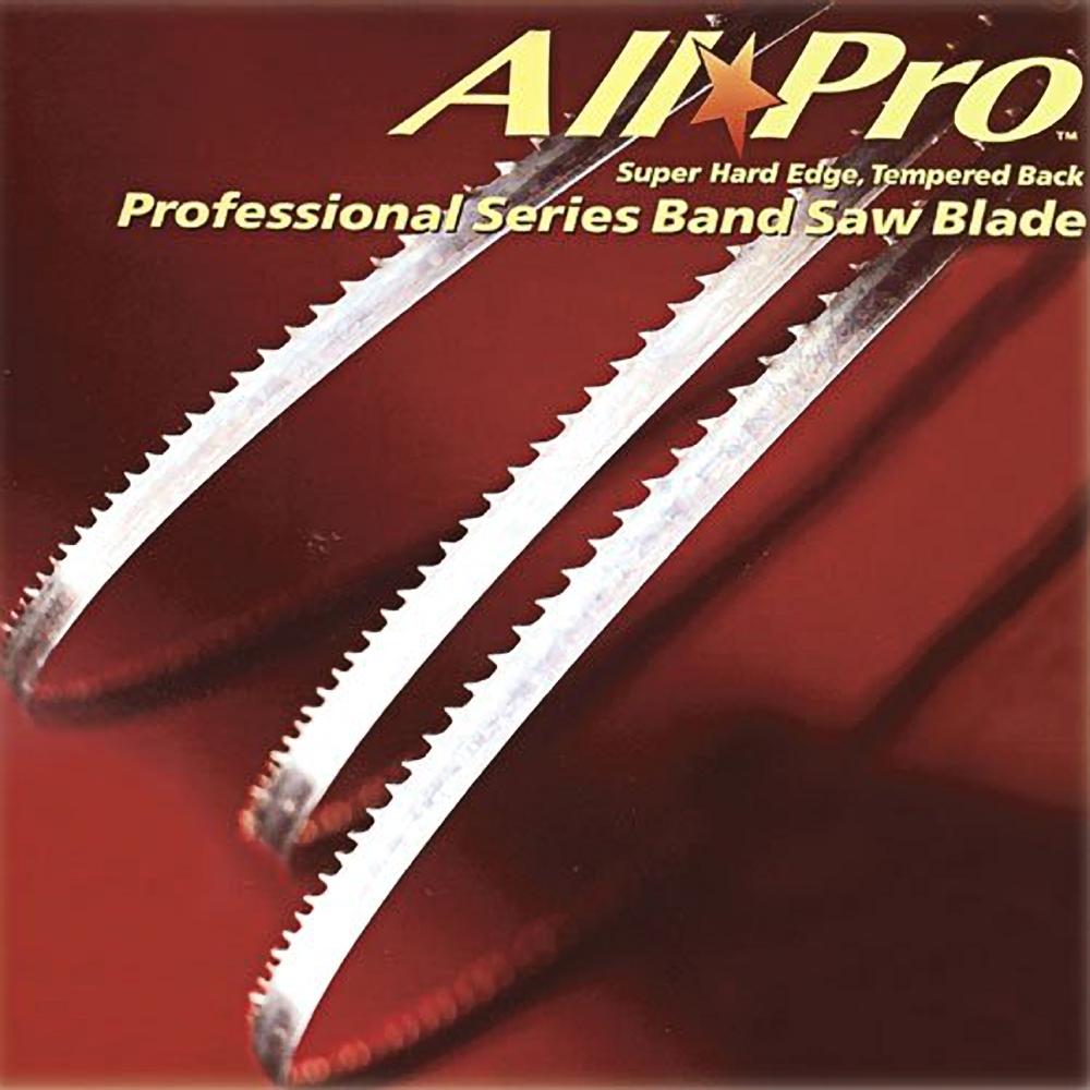 "1400mm 55.1/"" x 1//4/"" x desired tpi 4 BandSaw Blades"