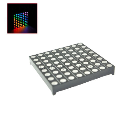 8x8 8*8 5mm Full Colour RGB Colorful LED Dot Matrix Display Module Common Anode