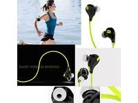 Bluetooth 4.0 Earphone Hands-free Headset Gym Sports In Ear Earpiece Earbud Mic
