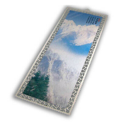 Us Stock Silver 100pcs Packed Metal Bookmark With Dents For Sublimation Printing
