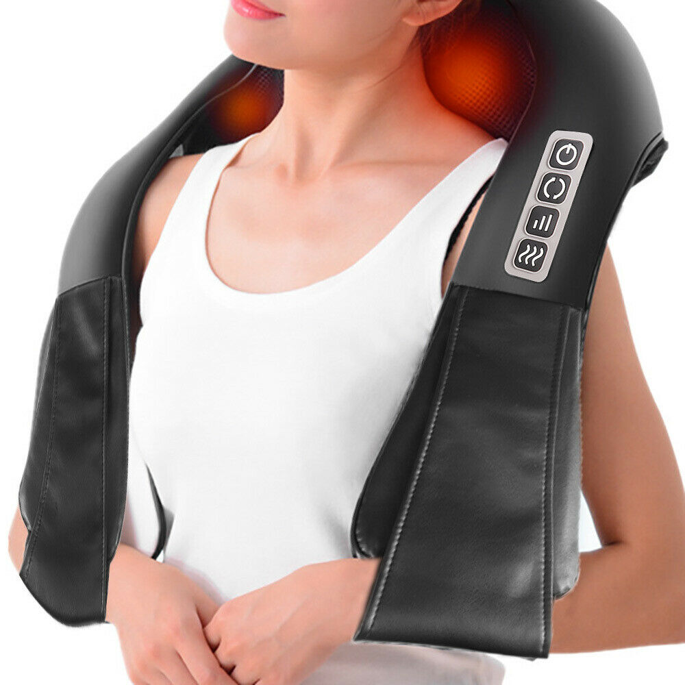 Shiatsu Massagegerät Nackenmassagegerät Schultermassage Wärmefunktion massage