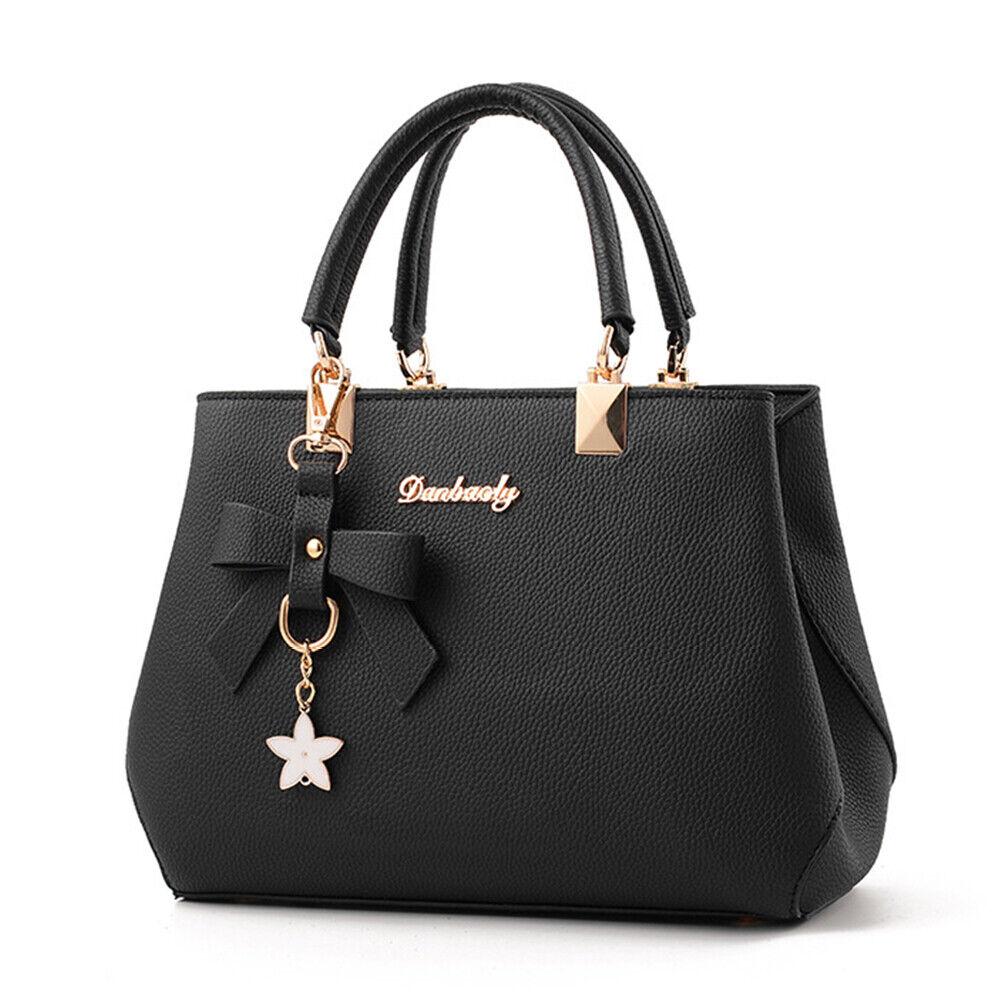 Women Handbag Shoulder Tote Bag Leather Crossbody Ladies Messenger Satchel Purse