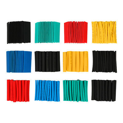 530pcs 21 Heat Shrink Tube Kit Sleeving Wrap Cable Wire Assortment 8 Size 45mm