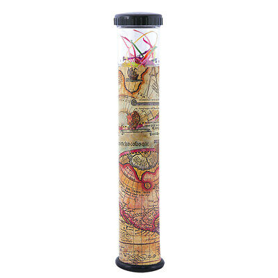 Kaleidoscope With Removable Top Old World Map Design 9