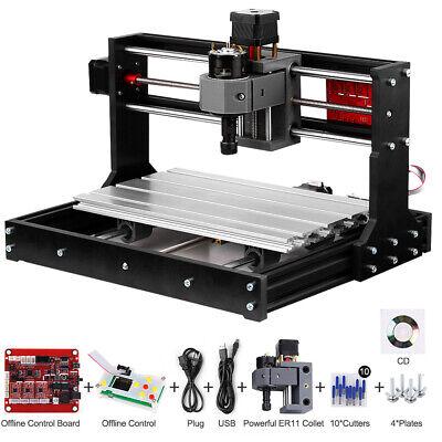 Cnc 3018pro Grbl Control 3 Axi.s Pcb Milling Machine Wood Router Engraver J5r6