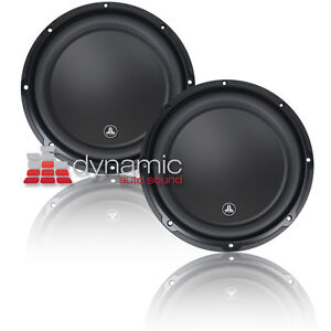 Two (2) JL AUDIO® 12W3v3-4 12