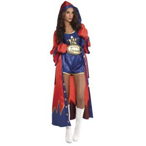 KNOCKOUT BOXER LADY COSTUME