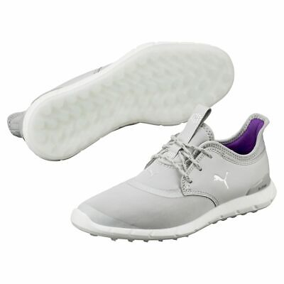 Puma Ignite Spikeless Sport Womens Golf Shoes 189422-02 Gray/Silver Ladies New