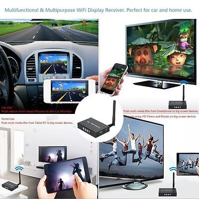 WIFI Mirabox iPhone Android Miracast DLNA Airplay Screen Mirroring Car Stereos
