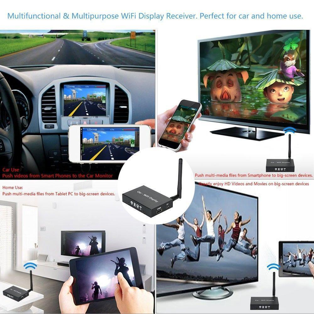 WIFI Mirabox iPhone Android Miracast DLNA Airplay Screen
