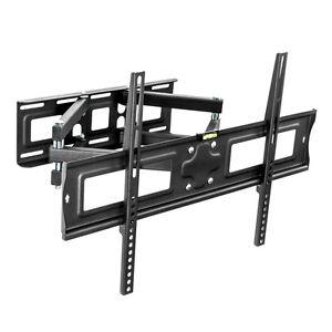 support mural tv muraux pivotant et inclinable lcd 3d led 32 65 80 163 cm ebay. Black Bedroom Furniture Sets. Home Design Ideas