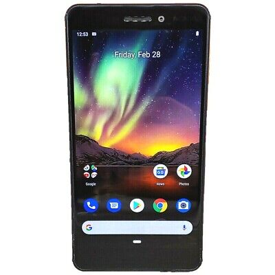 Nokia 6.1 TA-1045 32GB 16MP LTE Factory Unlocked Copper Black Smartphone A Grade