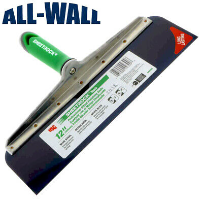Usg Sheetrock 12 Offset Drywall Taping Knife W Comfort Grip Blue Steel Blade