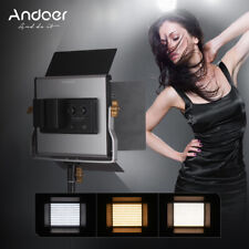 Andoer 2 Packs LED Video Light and 78.7 Inches Stand Lighting Kit Dimmable N6I9