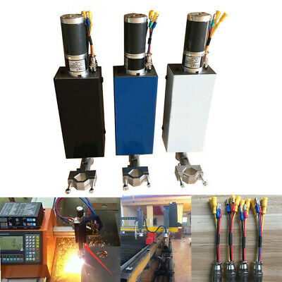 L100mm Plasma Flame Cutting Torch Holder Z Axis Lifter Dc24v For Cnc Machine