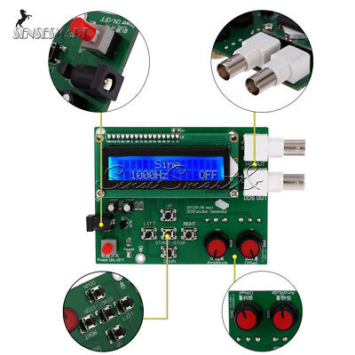 Kit Dds Function Signal Generator Module Sine Square Sawtooth Triangle Wave
