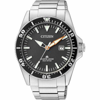 Citizen Eco-Drive Men's Black Dial Calendar Window 44mm Watch BN0100-85E