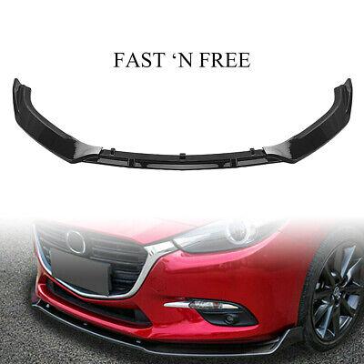 Mazda MX5 Miata MK3 3 Front Bumper Cup Chin Spoiler Lip Sport Valance Splitter