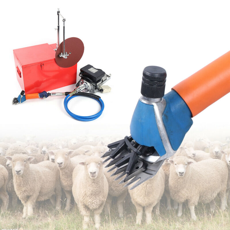Electric Shears Shearing Clipper Animal Sheep Goat Pet Farm Machine 360°Rotate