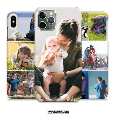 PERSONALISED CUSTOM PHOTO COLLAGE HARD PHONE CASE IPHONE 6 7 8 X XR XS MAX 11