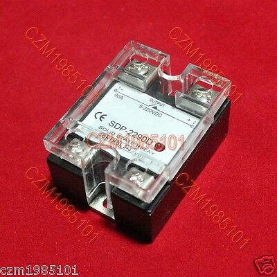 Solid State Relay Ssr Dc-dc 25a 3-32vdc5-220vdc 90a Replace Crydom D1d90d1d100