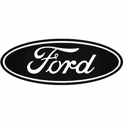 Ford Decal Script Oval Vinyl Decal Sticker Car Truck Window Racing Jdm F-150 Ford Oval Decal