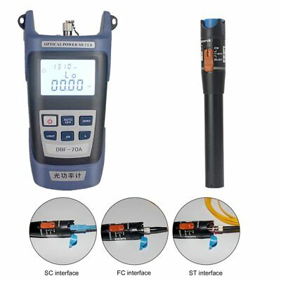 Fiber Optical Power Meter 10mw 10-12km Visual Fault Locator Optic Cable Tester