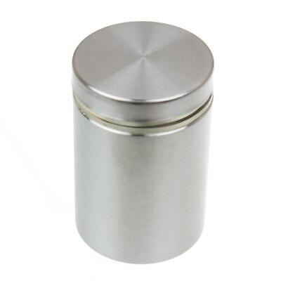 1-14 In. Dia X 1-12 In. L Stainless Steel Standoffs For Signs 4-pack