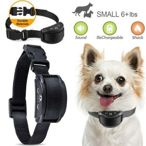 Anti Barking E-Collar No Bark Dog Training Shock Collar for Small Medium Dog US Dog Supplies