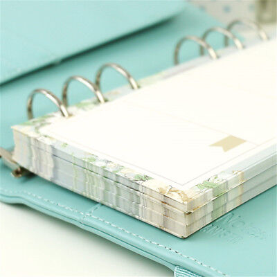 Binding Notebook (Notebook Kawaii Stationery 6 Holes A5 Refilling Inner Pages Loose Leaf Binding )