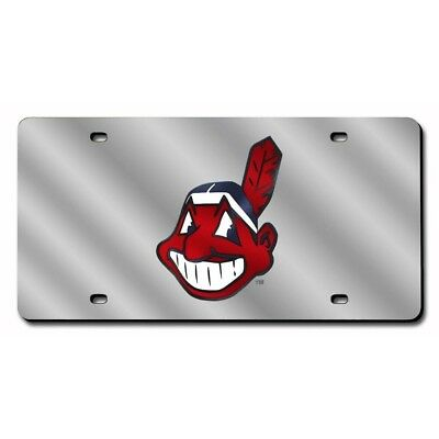 Cleveland Indians MLB Baseball License Plate Auto Tag Vanity Plate