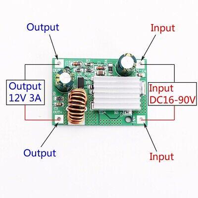 2pcs Step Down Power Supply Module Converter Non-isolated 24v 36v 48v 72v To 12v