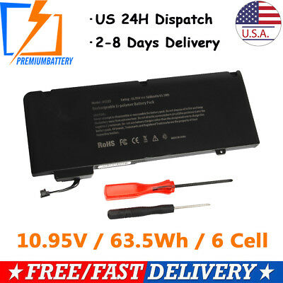 Battery A1322 for Apple MacBook Pro 13'' A1278 (Mid 2009 2010 2011 2012) Unibody