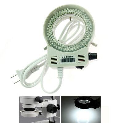 144 Bright White Led Bulbs Ring Light Illuminator For Stereo Microscope Camera