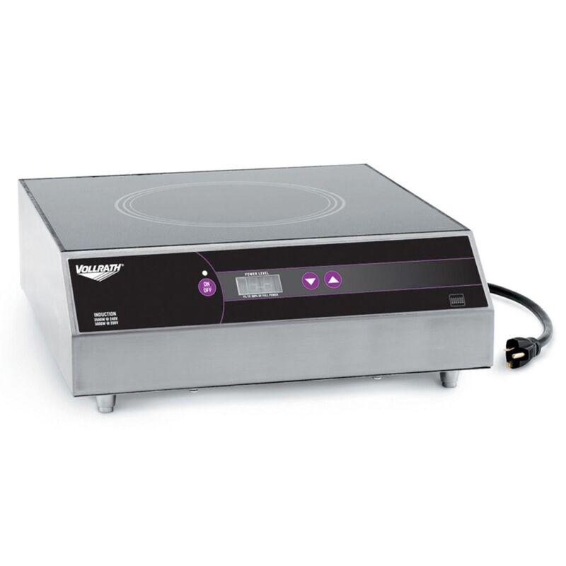 Vollrath 69504 Ultra Series Induction Range Countertop 3500w