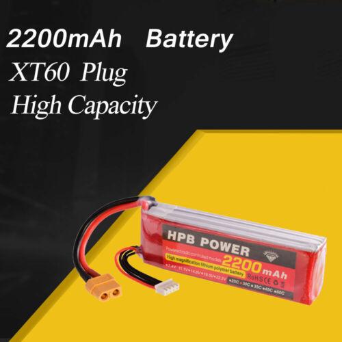 ZOP Power 11.1V 2200mAh 30C 3S Lipo Battery XT60 Plug For RC