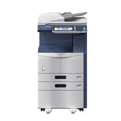 Toshiba E-studio 355 Mono Printer Scanner Copier 35 Ppm Laser Tabloidledger