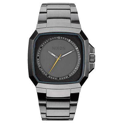 Nixon A308632 Men's Gunmetal Dial Gunmetal Steel Bracelet Watch