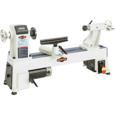 Shop Fox W1856 110 Volts 12x18 Variable Speed Benchtop Wood Lathe