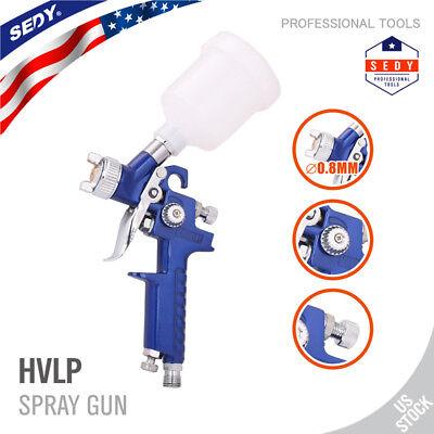 Mini Air Spray Gun HVLP 0.8MM Auto Car Detail Touch Up Paint Sprayer Spot Repair - Mini Paint Set