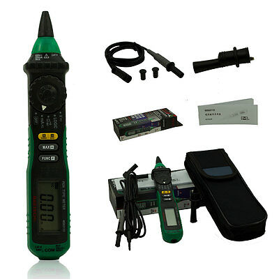 Mastech Ms8211d Digital Pen Auto Range Multimeter Ac Dc Voltage Meter Logic Test