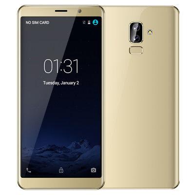 """5.99""""Android 8.0 3G Smartphone Dual Fotocamera Telefono Cellulare Sbloccato SIM"""