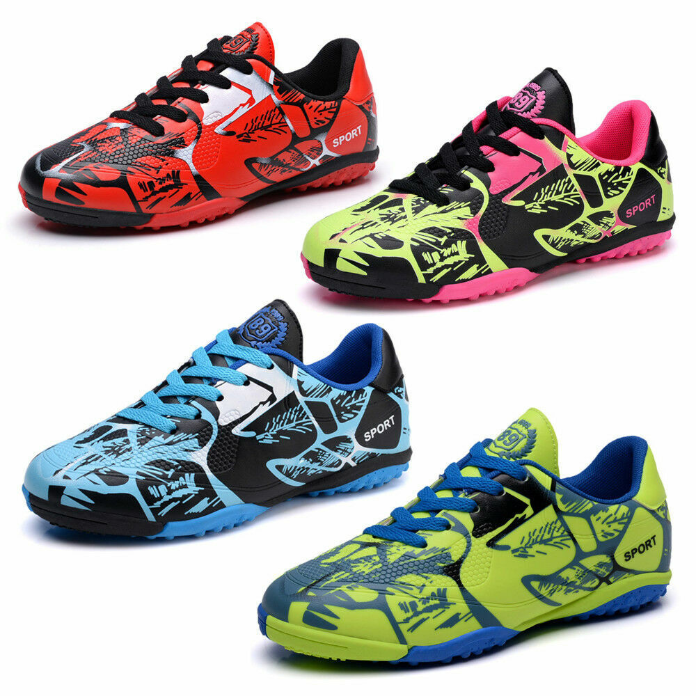 Kinder Fußballschuhe Turnschuhe Hallenschuhe Outdoor Trainers Schuhe Gr.31-43