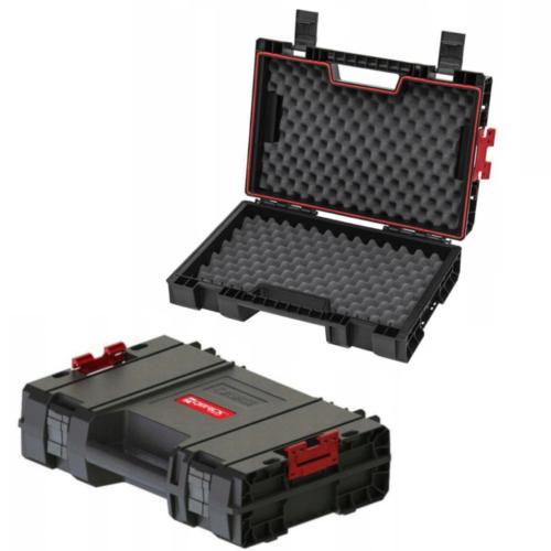Qbrick Maschinenkoffer Werkzeugkoffer Elektro Universal Schaumstoff Einlage leer