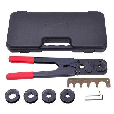 5in1 Pex Crimper Kit 38 12 58 34 1 Crimping Plumbing Copper Ring Tool